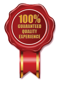 Guartanteed-Quality-Experience-Seal