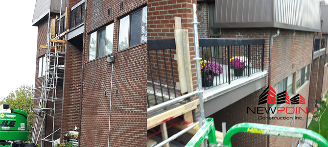 Toronto Balcony Repair